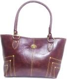 Belle Hand-held Bag (Maroon)