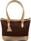 Uni Carress Shoulder Bag (Brown, Gold)