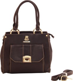 PARV COLLECTIONS Women Black Leatherette Tote