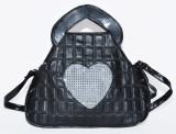Speed Dot Shoulder Bag (Black)