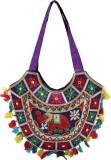Rastogi Handicrafts Shoulder Bag (Purple...