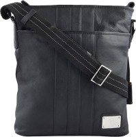Kara Messenger Bag(Black)