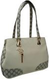 Alifs Shoulder Bag (White, Grey)