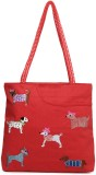 Indian Rain Tote (Red)