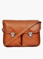 HX London Messenger Bag(Tan)