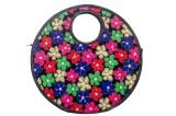 Designish Hand-held Bag (Multicolor)