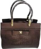 BK Black Hand-held Bag (Brown)