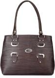 Frosty Fashion Shoulder Bag (Brown)