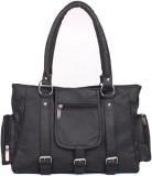 Zircons Shoulder Bag (Black)