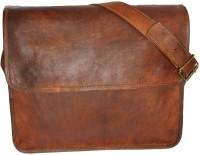 Crafat Messenger Bag(Brown)