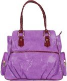 Rocia Hand-held Bag (Purple)
