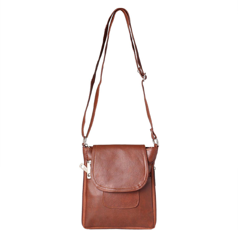 Sling bag below 500 - Impress Purse Sling Bag Brown