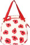Pick Pocket Shoulder Bag (White, Red)