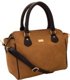 Yelloe Hand-held Bag (Multicolor)