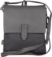 Walletsnbags Messenger Bag(Grey)