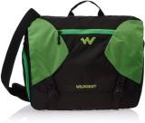 Wildcraft Messenger Bag (Black, Green)