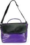 Nell Shoulder Bag (Purple, Black)