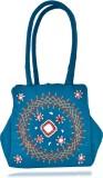Belladona Hand-held Bag (Blue)