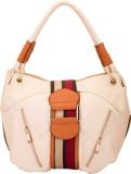 9Design Shoulder Bag (White, Multicolor)