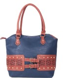 Reedra Shoulder Bag (Blue)