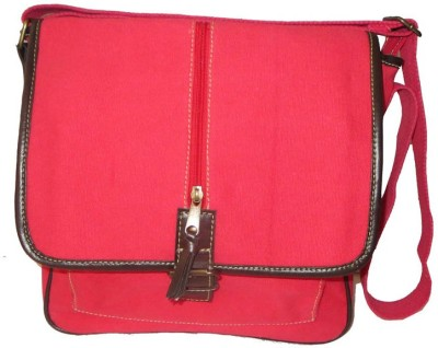 Needlecrest Messenger Bag(Hot Pink)