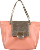 Glitter Glory Hand-held Bag (Pink, Gold)