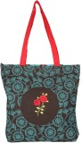 Pick Pocket Tote (Brown, Blue)