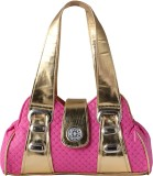 Impress Shoulder Bag (Pink, Gold)