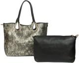 Kion Style Shoulder Bag (Gold, Black)