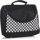 Home Heart Hand-held Bag (Black, White)