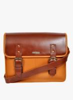 HX London Messenger Bag(Brown/Tan)