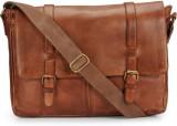 Teakwood Messenger Bag (Tan)