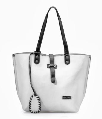 Calvino Shoulder Bag(White)