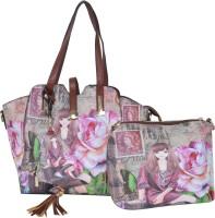 Violet Hand-held Bag(VIOLET)