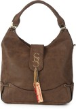 Knight Wolf Hand-held Bag (Brown)