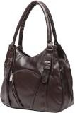 Gioviale Hand-held Bag (Brown)