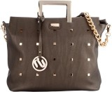 Aurum Hand-held Bag (Brown)