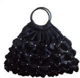 Rosy Hand-held Bag (Black)