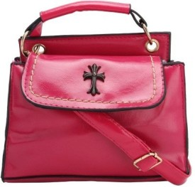 Liza Messenger Bag(Red)