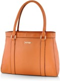 Daphne Hand-held Bag (Brown)