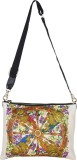 Riti Shoulder Bag (White, Orange)