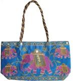Haveli Arts Hand-held Bag (Blue)