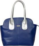 Bern Hand-held Bag (Blue, Silver)