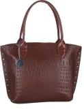 Dice Shoulder Bag (Brown)