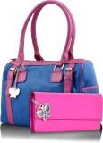 BUTTERFLIES Satchel (Blue, Pink)