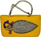 Arisha Kreation Co Hand-held Bag (Yellow...