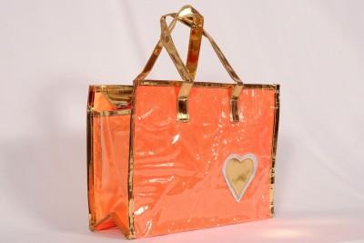 Pink Lotus Hand-held Bag