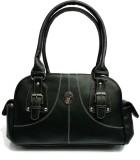 Leather Land Shoulder Bag (Black)