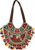 Rastogi Handicrafts Shoulder Bag (Brown,...