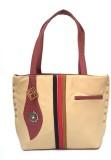 Fashion Knockout Hand-held Bag (Beige)